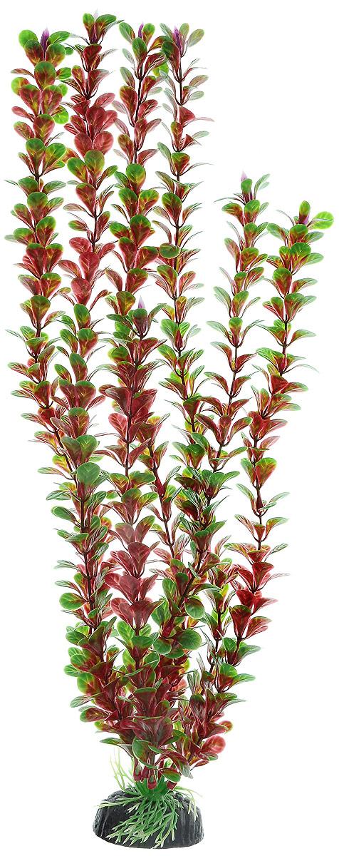Растение для аквариума Barbus Людвигия ползучая (красная), пластиковое, высота 50 см растение для аквариума barbus роголистник пластиковое цвет зеленый высота 50 см