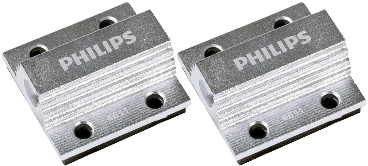 Обманка для светодиодов Philips CEA 12V 5W, 2 шт радиобудильник philips aj3123 12