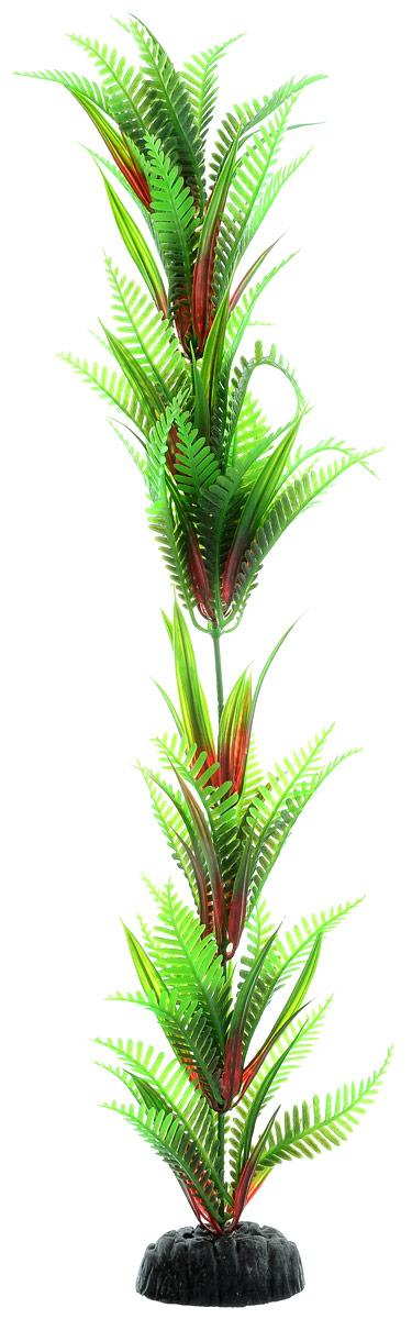 Растение для аквариума Barbus Папоротник, пластиковое, высота 50 см оборудование для аквариума 50 литров