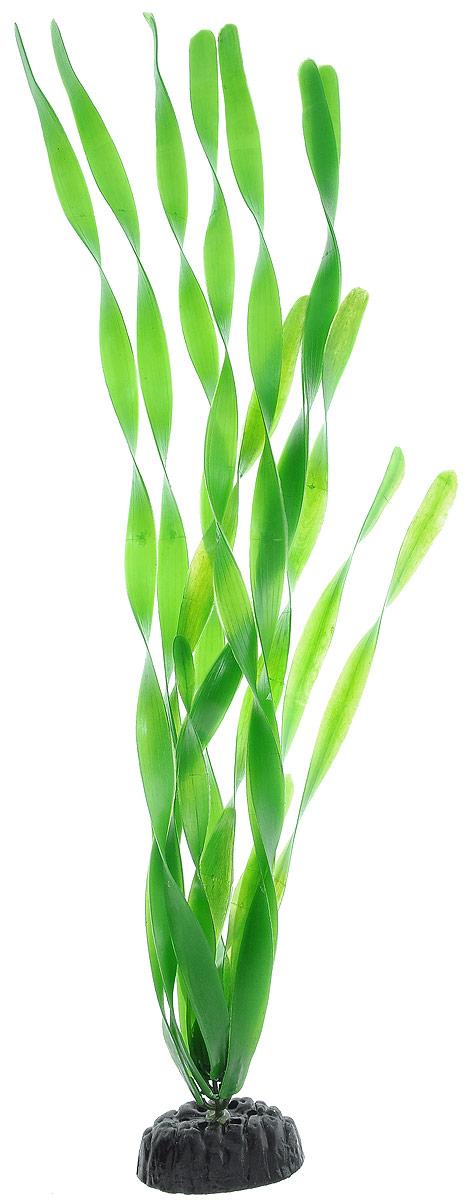 Растение для аквариума Barbus Валлиснерия широколистная, пластиковое, высота 50 см оборудование для аквариума 50 литров