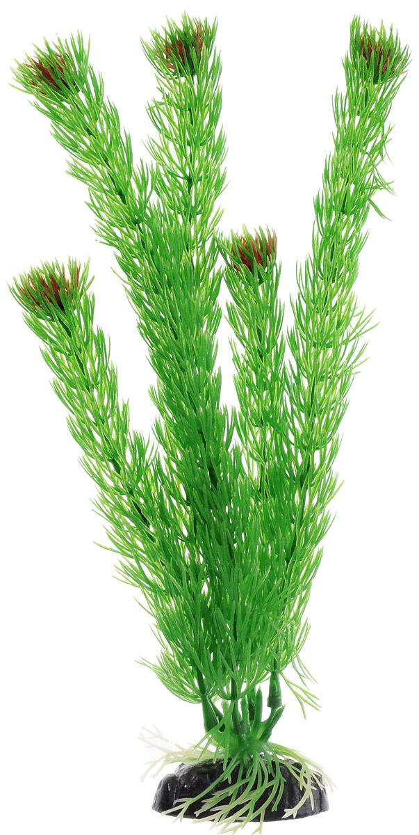 Растение для аквариума Barbus Амбулия, пластиковое, высота 30 см растение для аквариума barbus горгонария пластиковое цвет коричневый высота 30 см