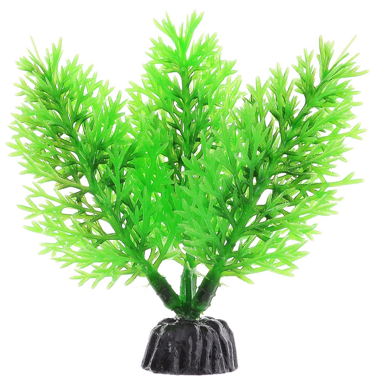 Растение для аквариума Barbus Роголистник, пластиковое, цвет: зеленый, высота 10 см растение для аквариума barbus роголистник пластиковое цвет зеленый высота 50 см
