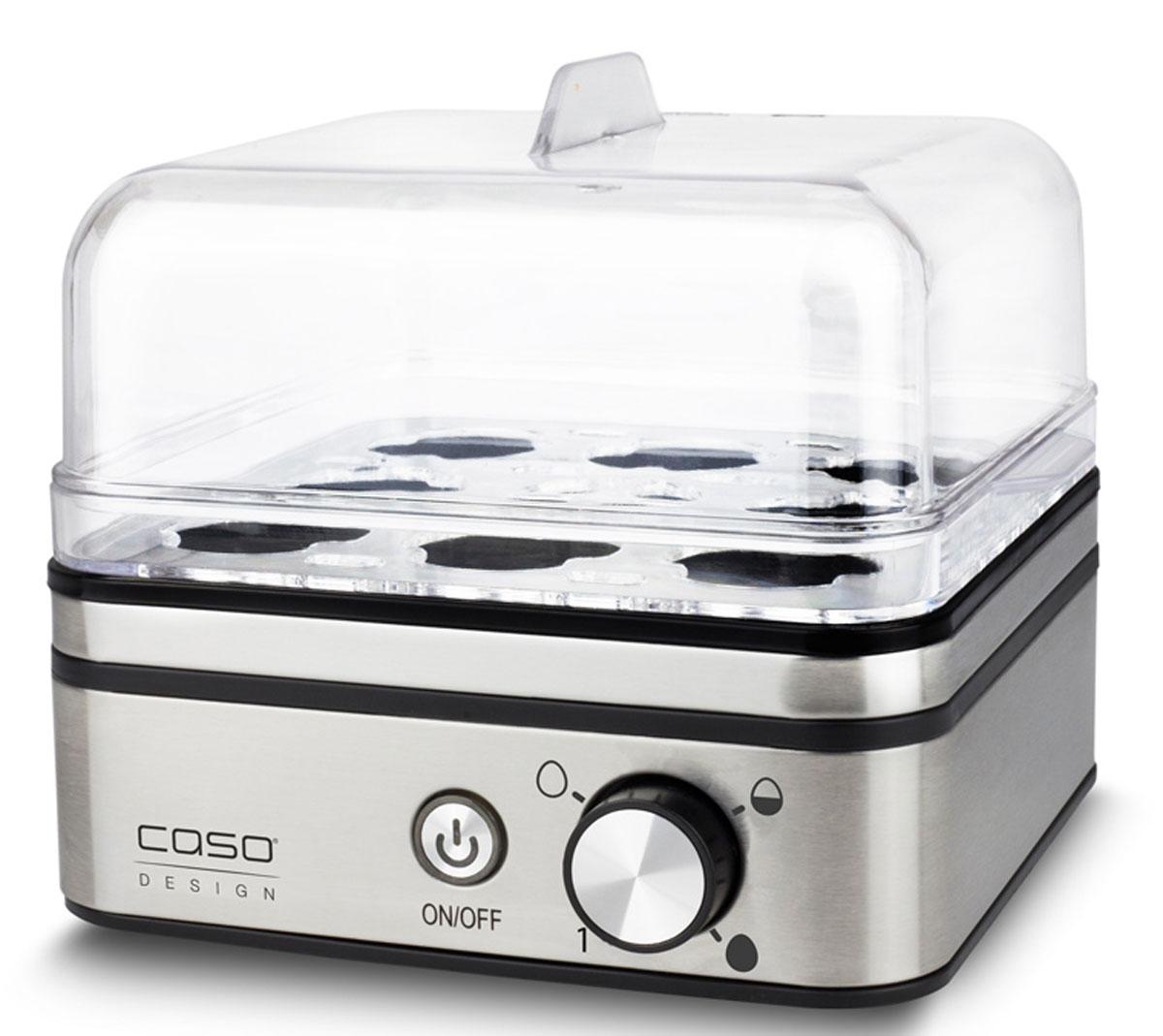 Яйцеварка CASO E9, Silver caso e9 silver яйцеварка