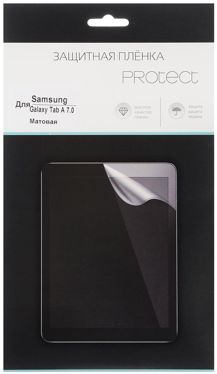 Protect защитная пленка для Samsung Galaxy Tab A 7.0, матовая protect защитная пленка для samsung galaxy a5 2016 матовая