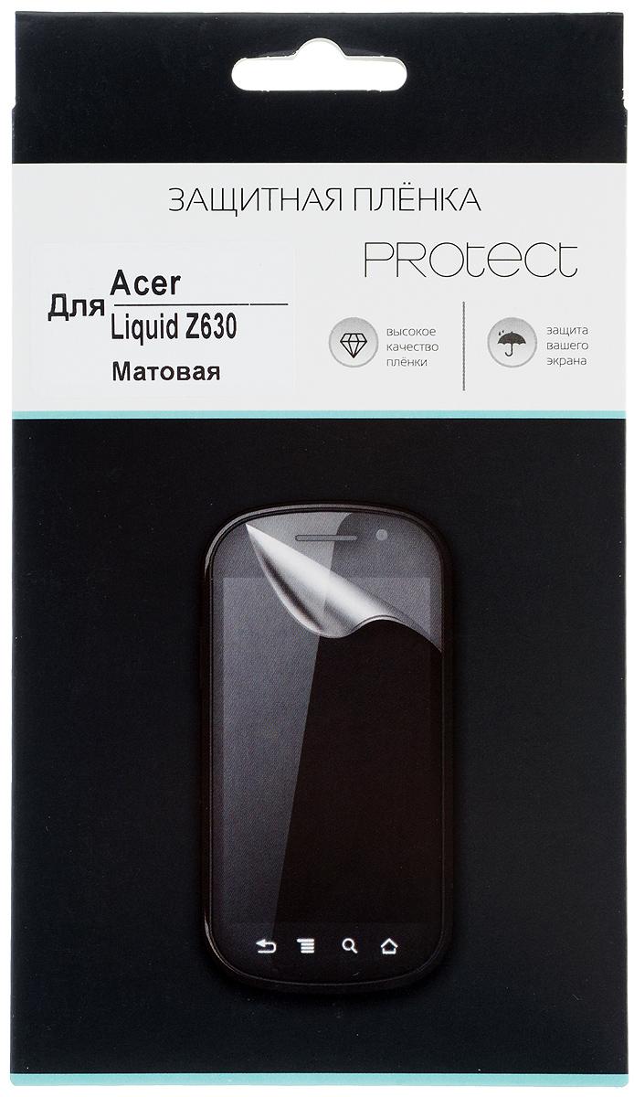Protect защитная пленка для Acer Liquid Z630, матовая цены онлайн