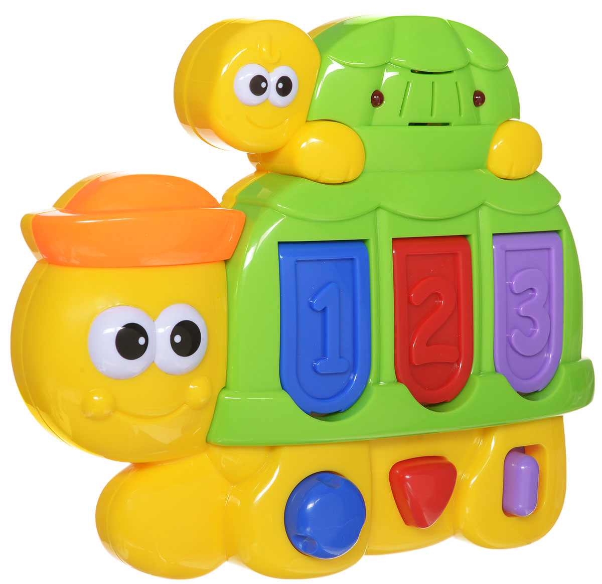 Navystar Развивающая игрушка Черепашка музыкальная игрушка в виде черепашки с кубиками черепашка умняшка с кубиками