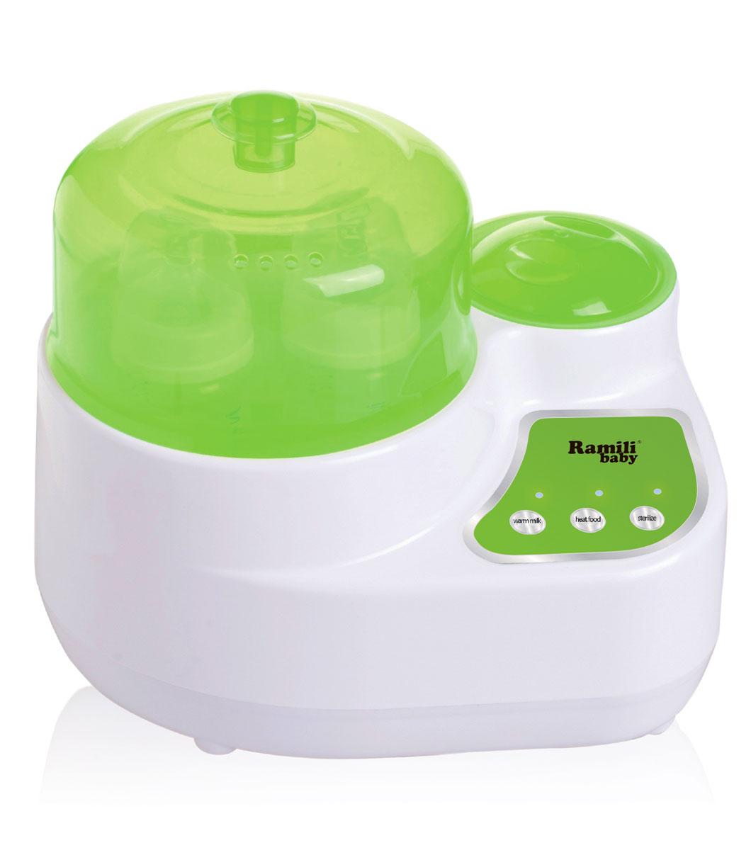 Ramili Стерилизатор-подогреватель бутылочек и детского питания BSS250 3 в 1 универсальный электрический стерилизатор ramili bss250