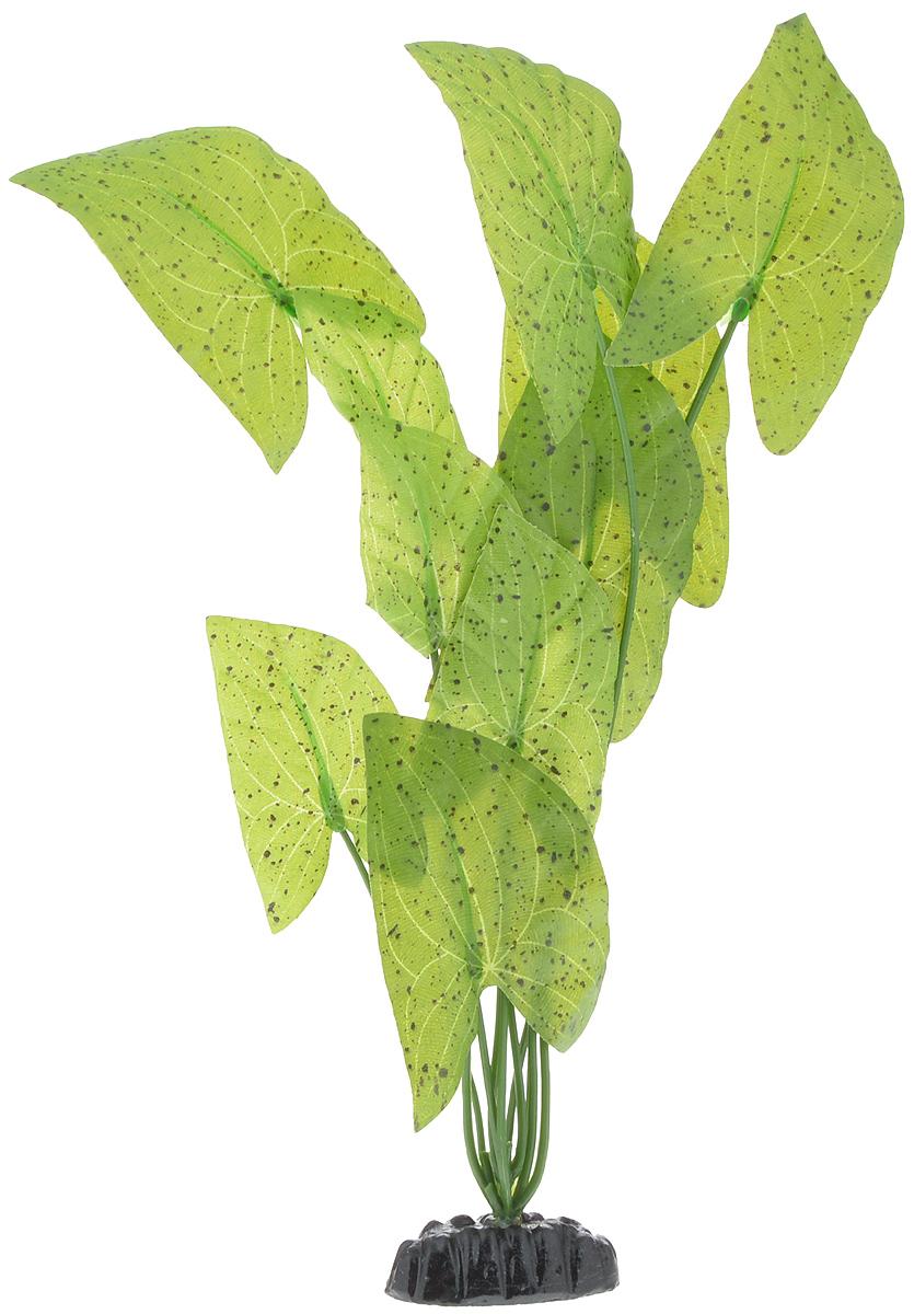 Растение для аквариума Barbus Нимфея пятнистая, шелковое, высота 30 см растение для аквариума barbus лотос шелковое высота 50 см