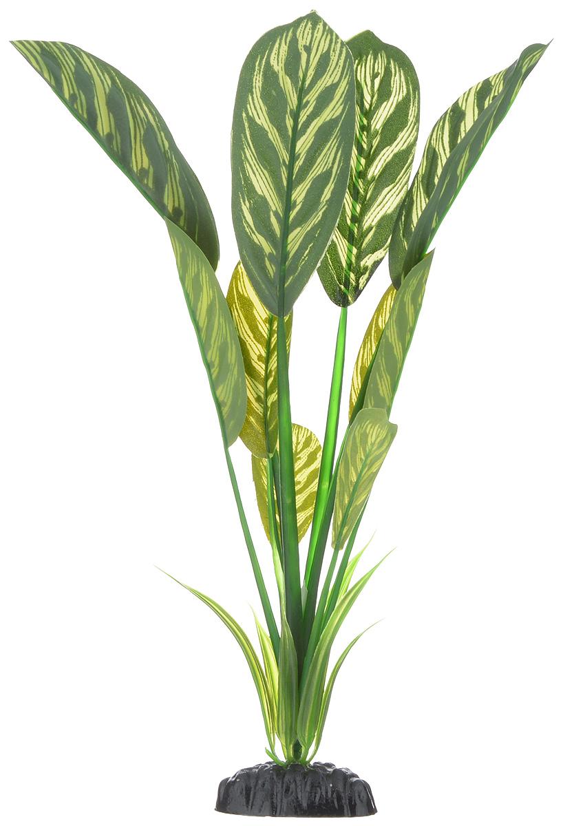 Растение для аквариума Barbus Диффенбахия тигровая, шелковое, высота 30 см растение для аквариума barbus лотос шелковое высота 50 см