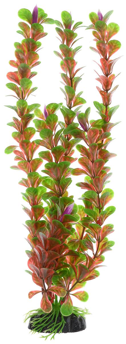 Растение для аквариума Barbus Людвигия ползучая (красная), пластиковое, высота 30 см растение для аквариума barbus горгонария пластиковое цвет коричневый высота 30 см