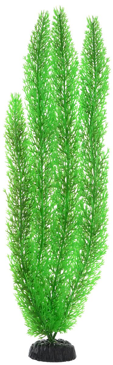 Растение для аквариума Barbus Роголистник, пластиковое, цвет: зеленый, высота 50 см оборудование для аквариума 50 литров