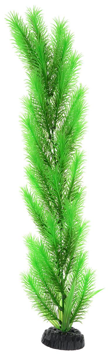 Растение для аквариума Barbus Перистолистник зеленый, пластиковое, высота 50 см оборудование для аквариума 50 литров