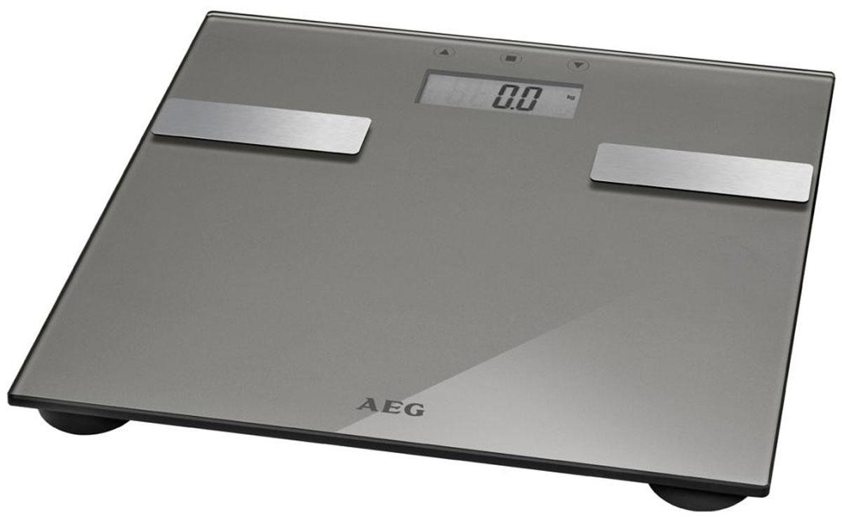 Напольные весы AEG PW 5644 FA, Light Gray aeg pw 5571 fa