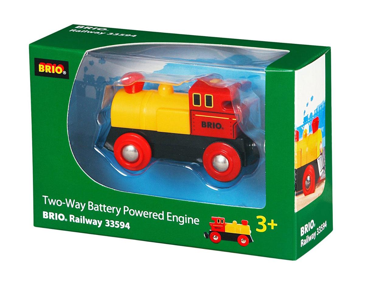 Brio Паровоз с двусторонним движением brio паровоз локомотив цвет зеленый