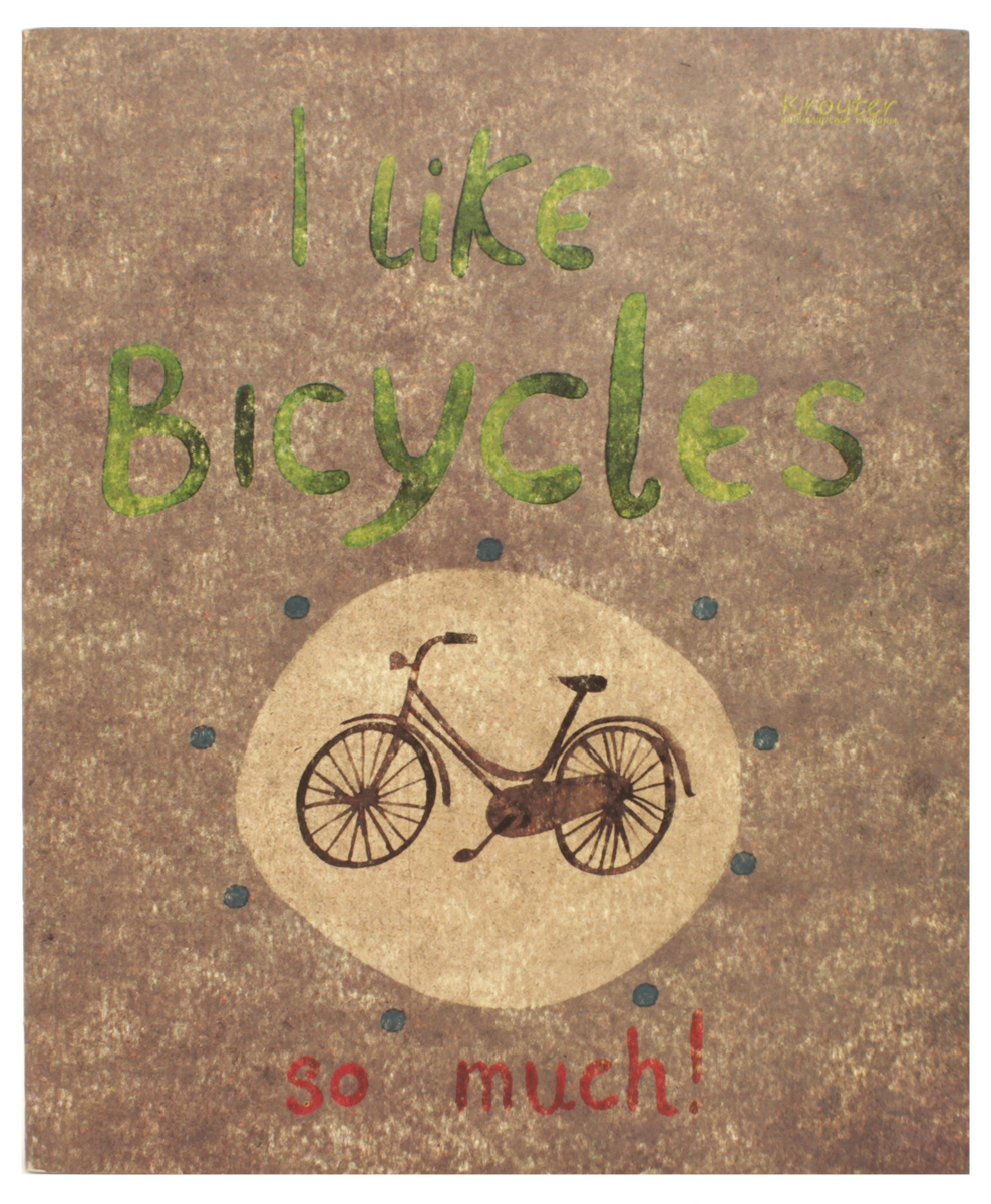 Kroyter Тетрадь Bicycle 48 листов в клетку kroyter тетрадь креатив 48 листов в линейку