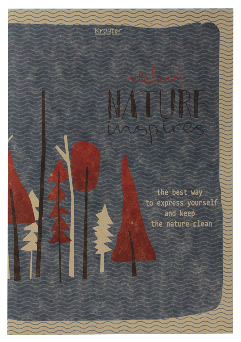 Kroyter Тетрадь Nature 48 листов в клетку тетрадь kroyter office a4 60 листов 650795