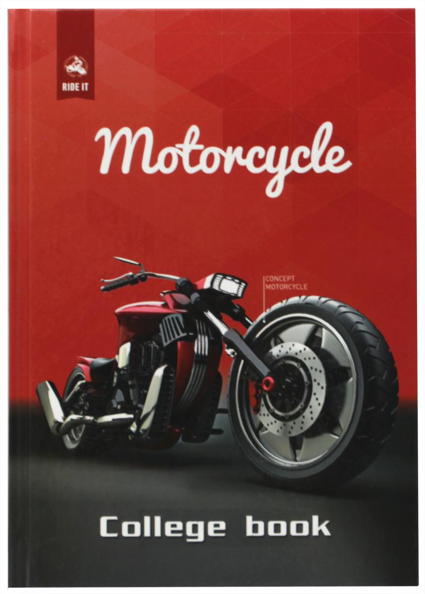 Бриз Тетрадь Мотоцикл 160 листов в клетку триумф колледж тетрадь coffee break 160 листов в клетку