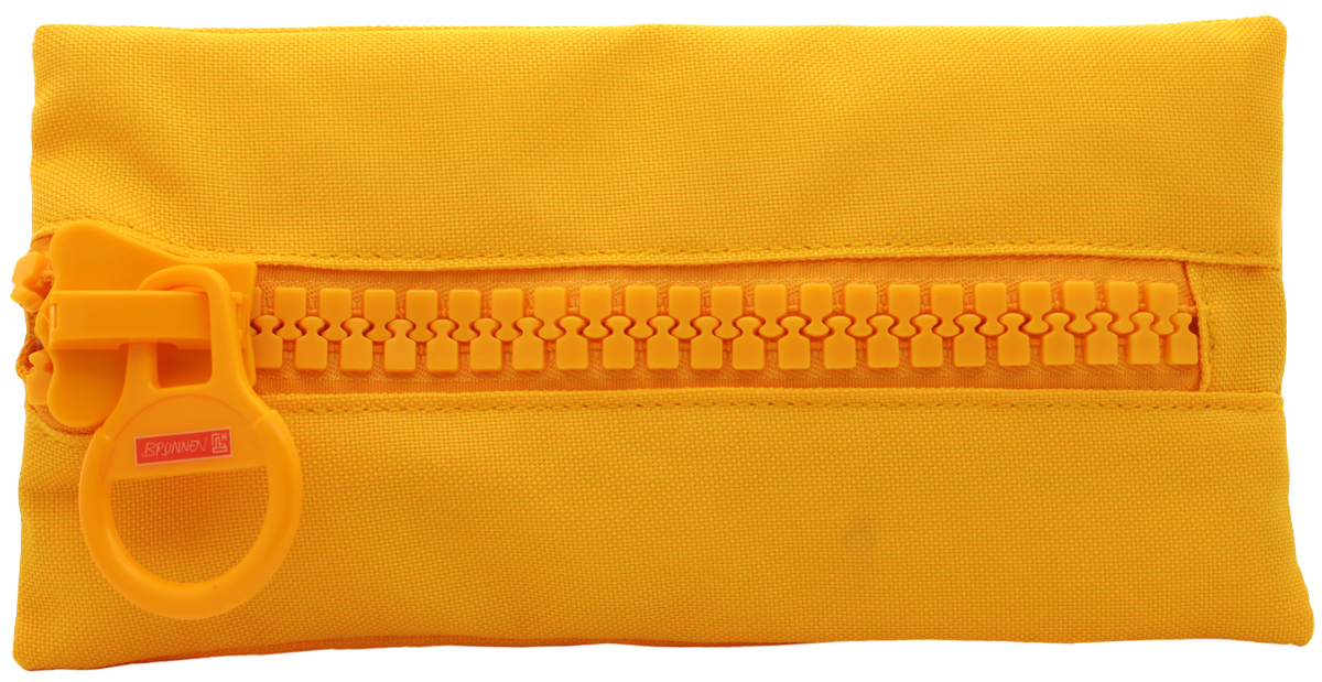 Brunnen Пенал BigZip цвет желтый