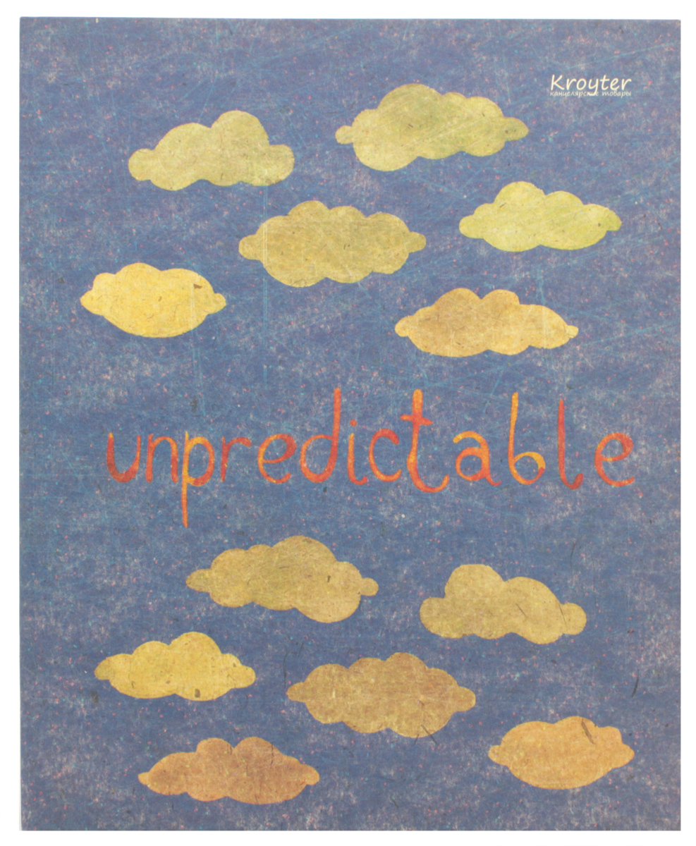 Kroyter Тетрадь Unpredictable 48 листов в клетку kroyter тетрадь креатив 48 листов в линейку