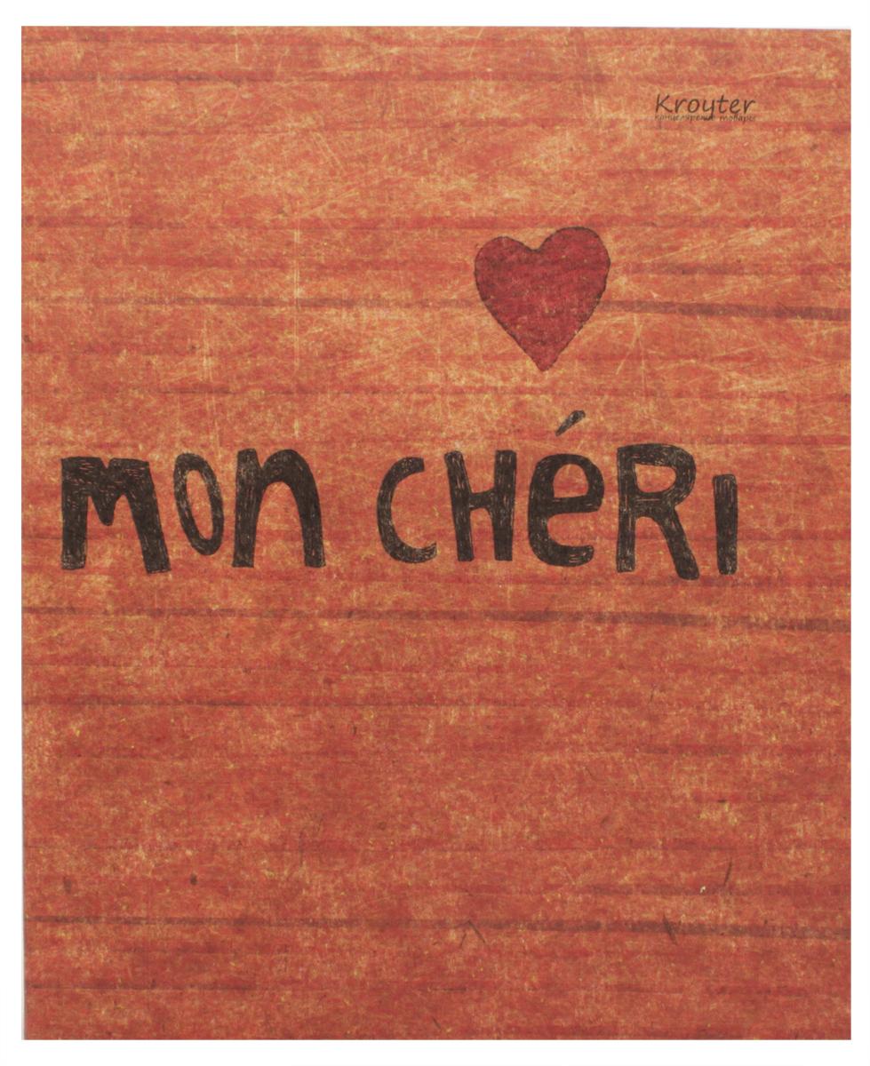 Kroyter Тетрадь Mon Cherry 48 листов в клетку kroyter тетрадь креатив 48 листов в линейку