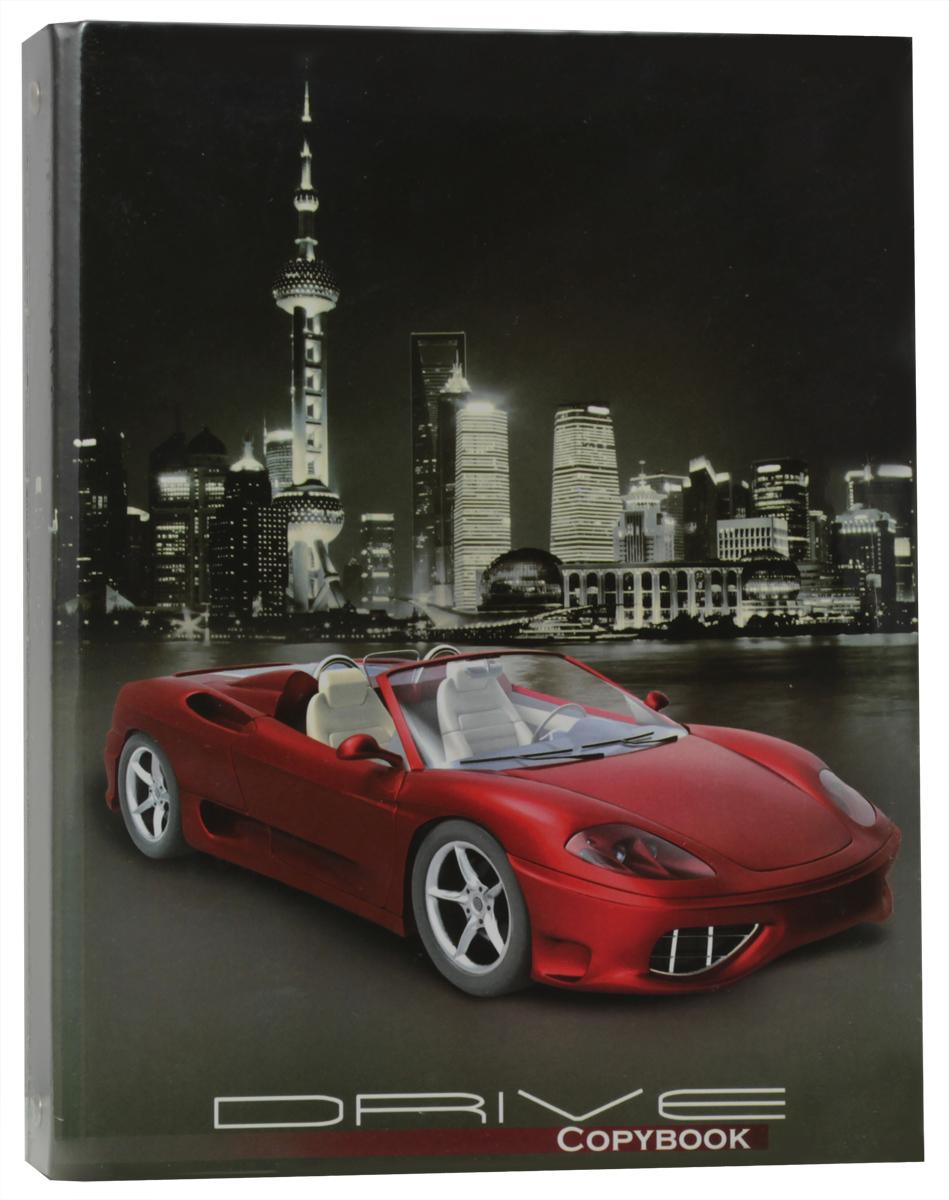 Фото - Феникс+ Тетрадь Красное авто 160 листов в клетку авто