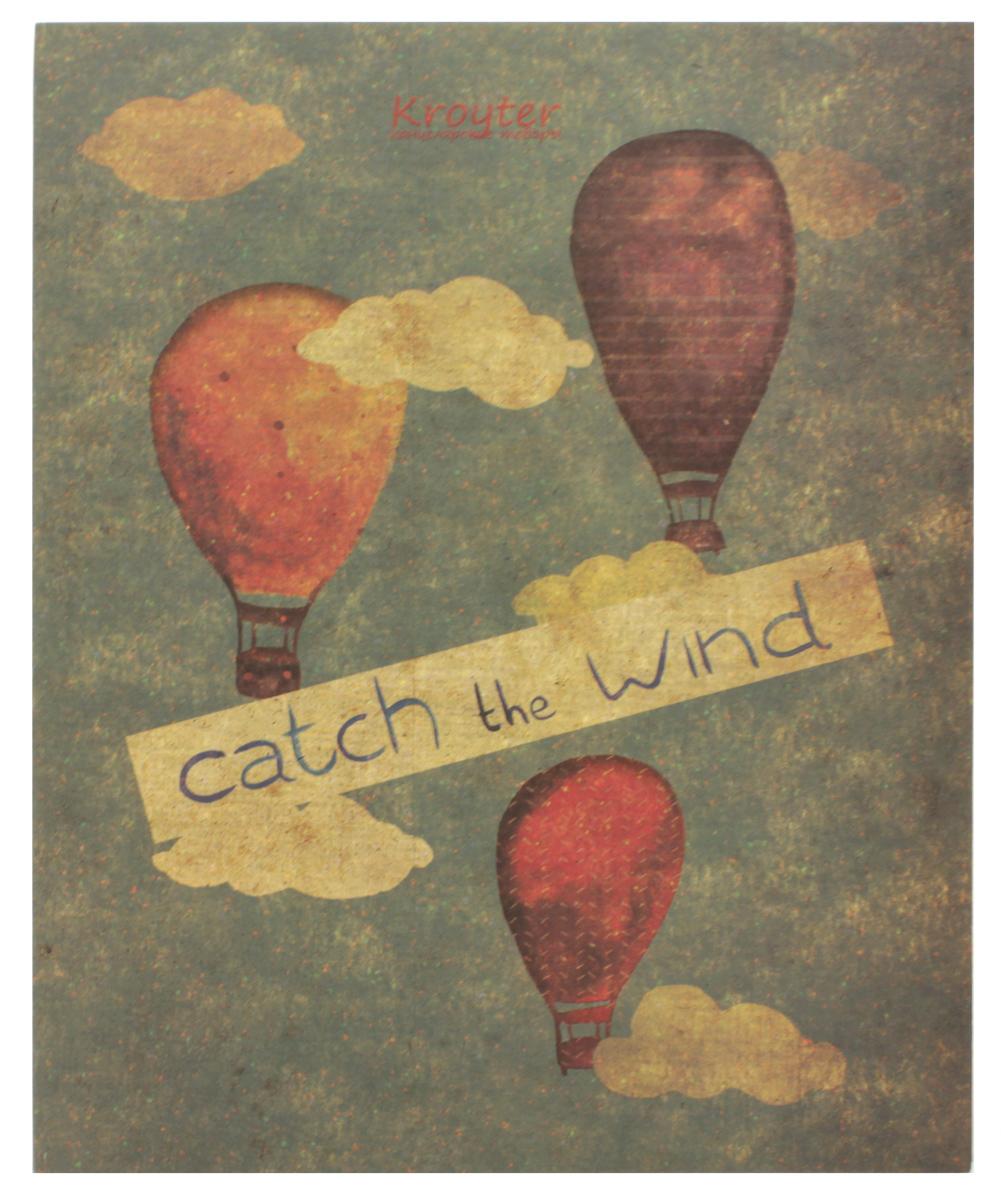 Kroyter Тетрадь Catch The Wind 48 листов в клетку kroyter тетрадь креатив 48 листов в линейку