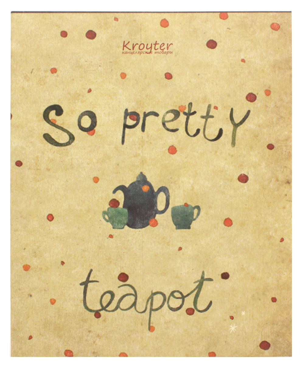 Kroyter Тетрадь Teapot 48 листов в клетку kroyter тетрадь креатив 48 листов в линейку