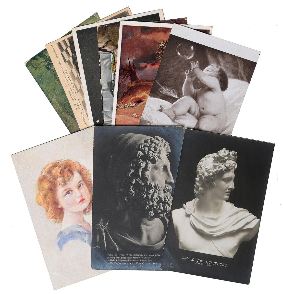 Набор открыток с репродукциями