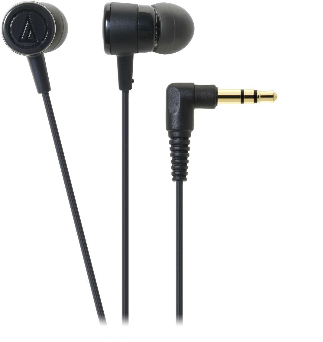 лучшая цена Audio-Technica ATH-CKL220, Black наушники