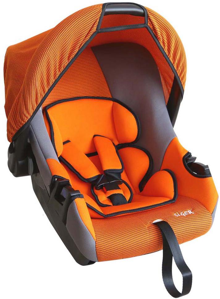 """Автокресло Siger """"Эгида Люкс"""" от 0 до 13 кг, KRES0074, оранжевый"""