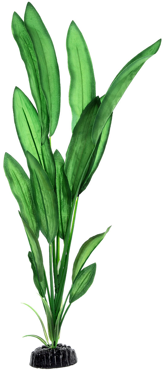 Растение для аквариума Barbus Эхинодорус Блейхери, шелковое, высота 50 см растение для аквариума barbus эхинодорус бартхи шелковое цвет зеленый коричневый высота 20 см