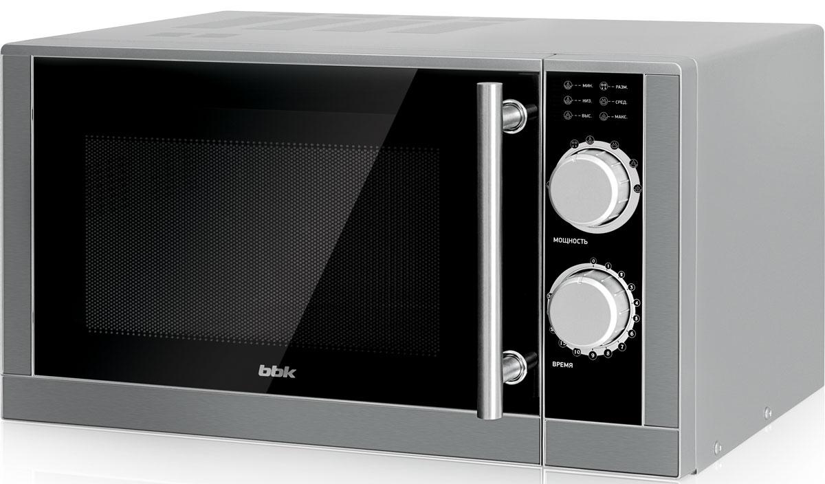 Микроволновая печь BBK 23MWS-929M/BX, серый