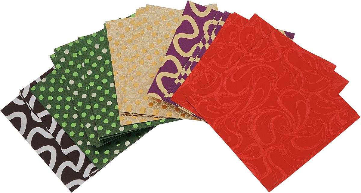 Альт Набор цветной бумаги для оригами 30 листов Альт