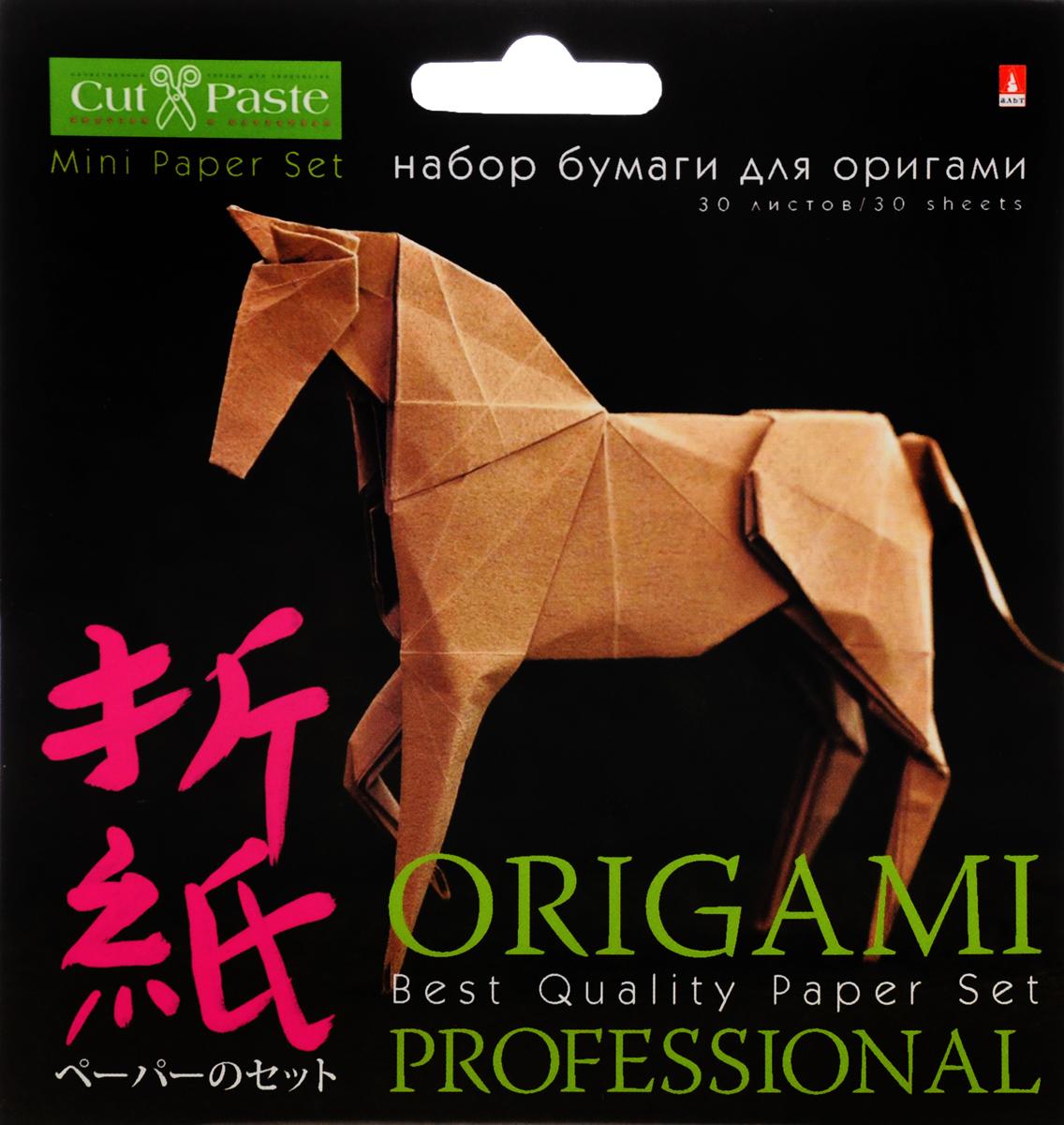 Альт Набор цветной бумаги для оригами 30 листов набор альт набор для оригами всплеск цвета 20 20 11 07 180 3