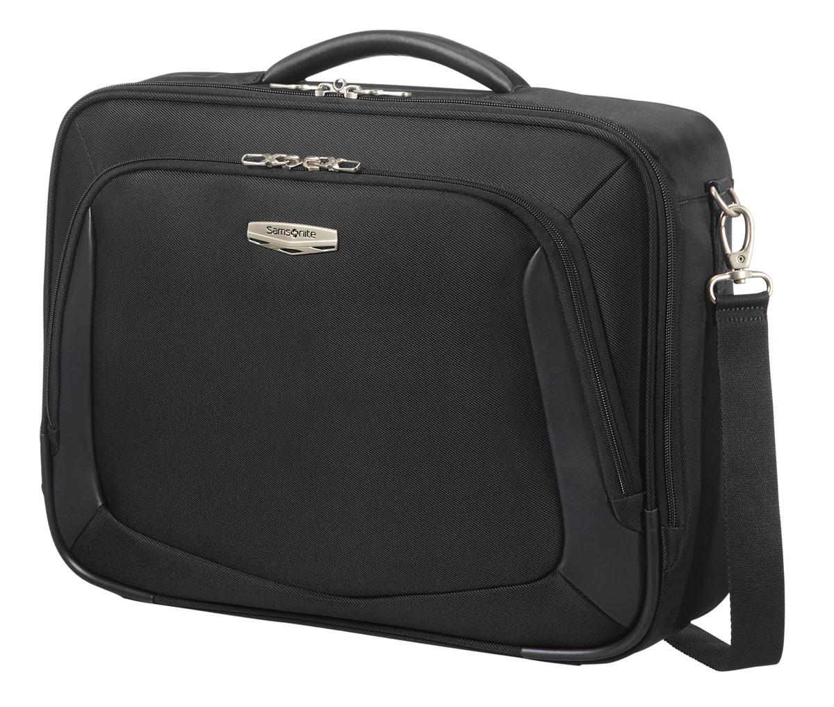 Сумка плечевая Samsonite X-blade 3.0, цвет: черный, 45 х 38 х 15 см сумка плечевая samsonite сумка плечевая paradiver light
