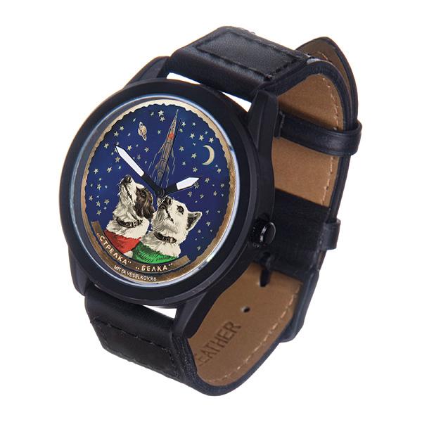 Часы Mitya Veselkov Белка и Стрелка. MVBlack-32 все цены