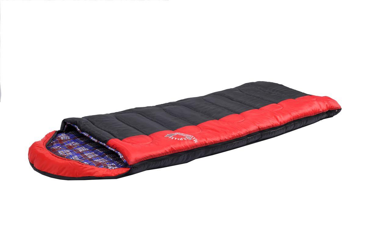 Спальный мешок Indiana Maxfort Plus, правая молния, цвет: красный ,черный, синий, 195 х 35 х 90 см спальный мешок indiana maxfort plus правая молния цвет красный черный синий 195 х 35 х 90 см