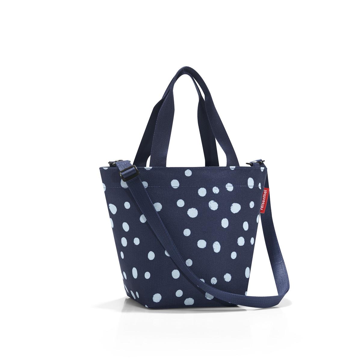 купить Сумка-шоппер женская Reisenthel Shopper XS spots navy, цвет: синий. ZR4044 по цене 1147 рублей