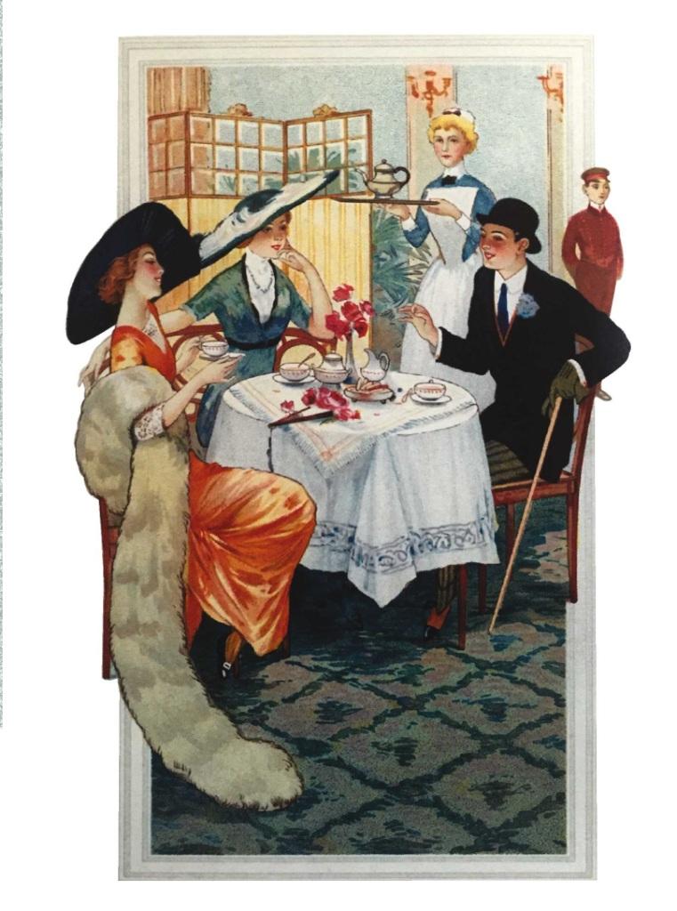 Поздравительная открытка в винтажном стиле № 17, формат А5. Автор Екатерина Рождественская открытка заплаткина жизнь автор татьяна перова