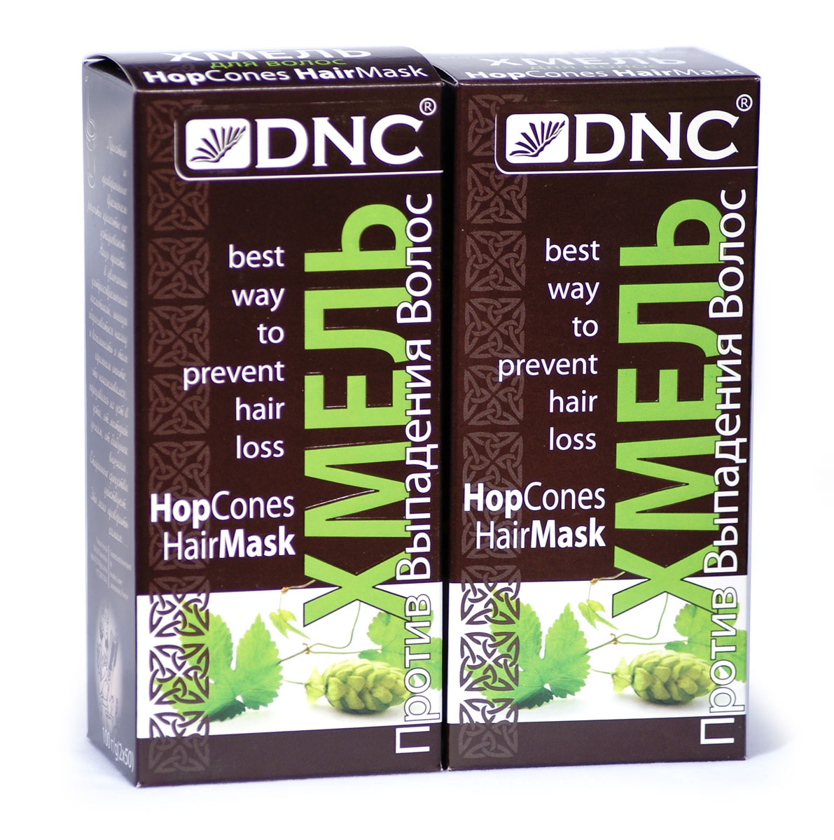 DNC Хмель для волос + Хмель для волос (2*100г) набор хмель