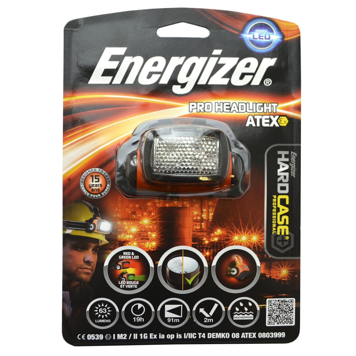 Налобный фонарь Energizer Atex HL