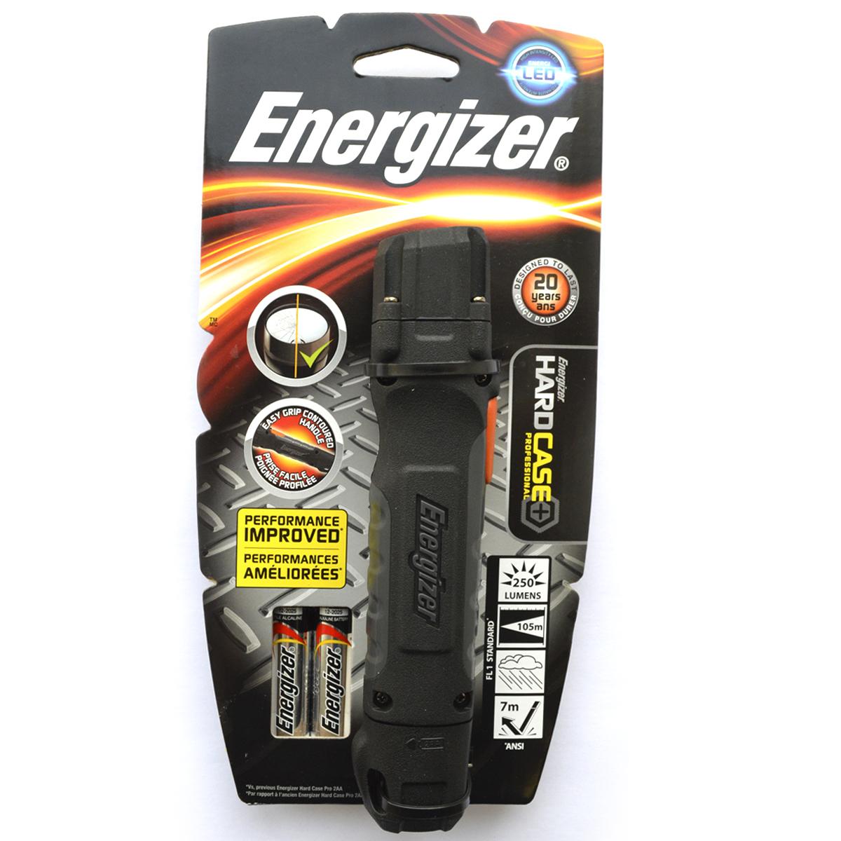 Фонарь ручной Energizer Hard Case Pro. 639618