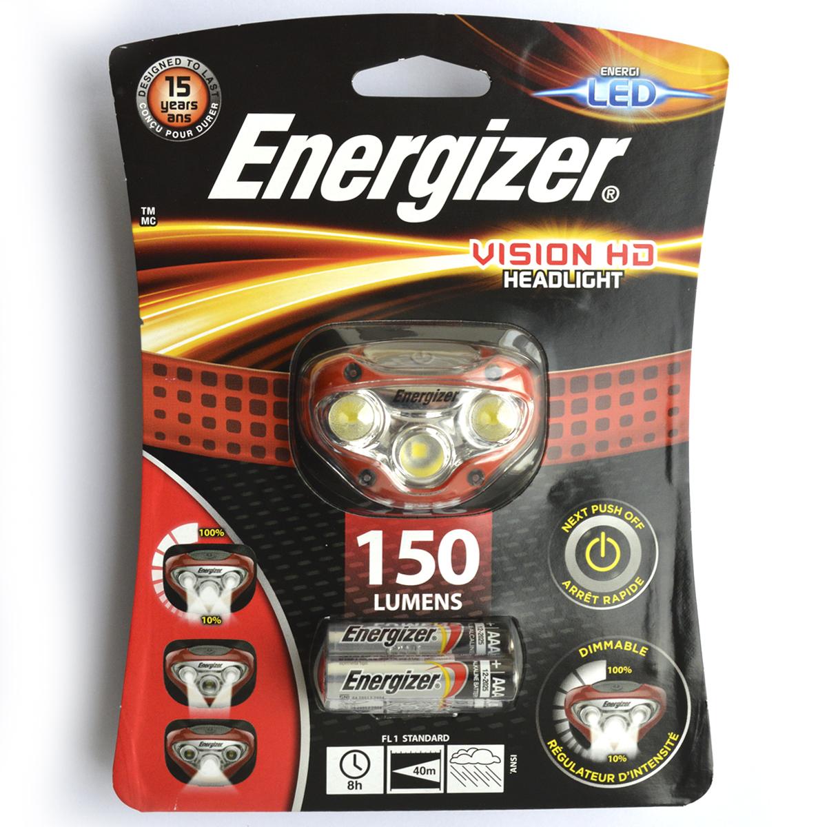Фонарь налобный Energizer HL
