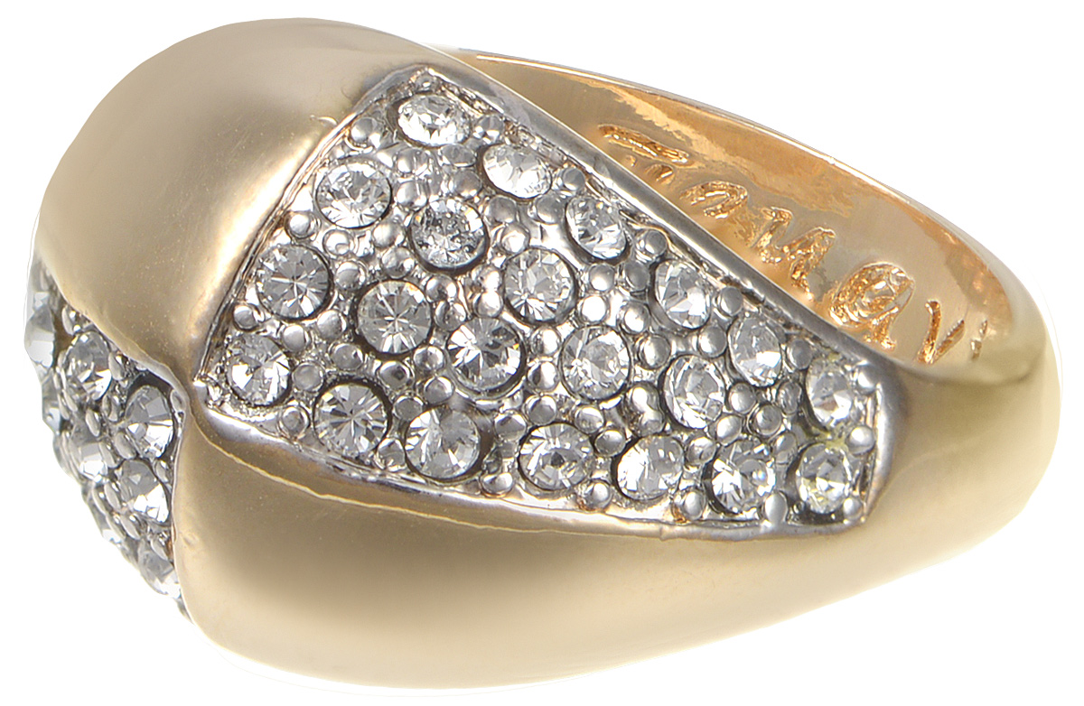 Кольцо Jenavi Озон. Хорвард, цвет: золотой. j957q000. Размер 17 кольцо женское jenavi линия судьбы вейя цвет золотой r406p090 размер 16