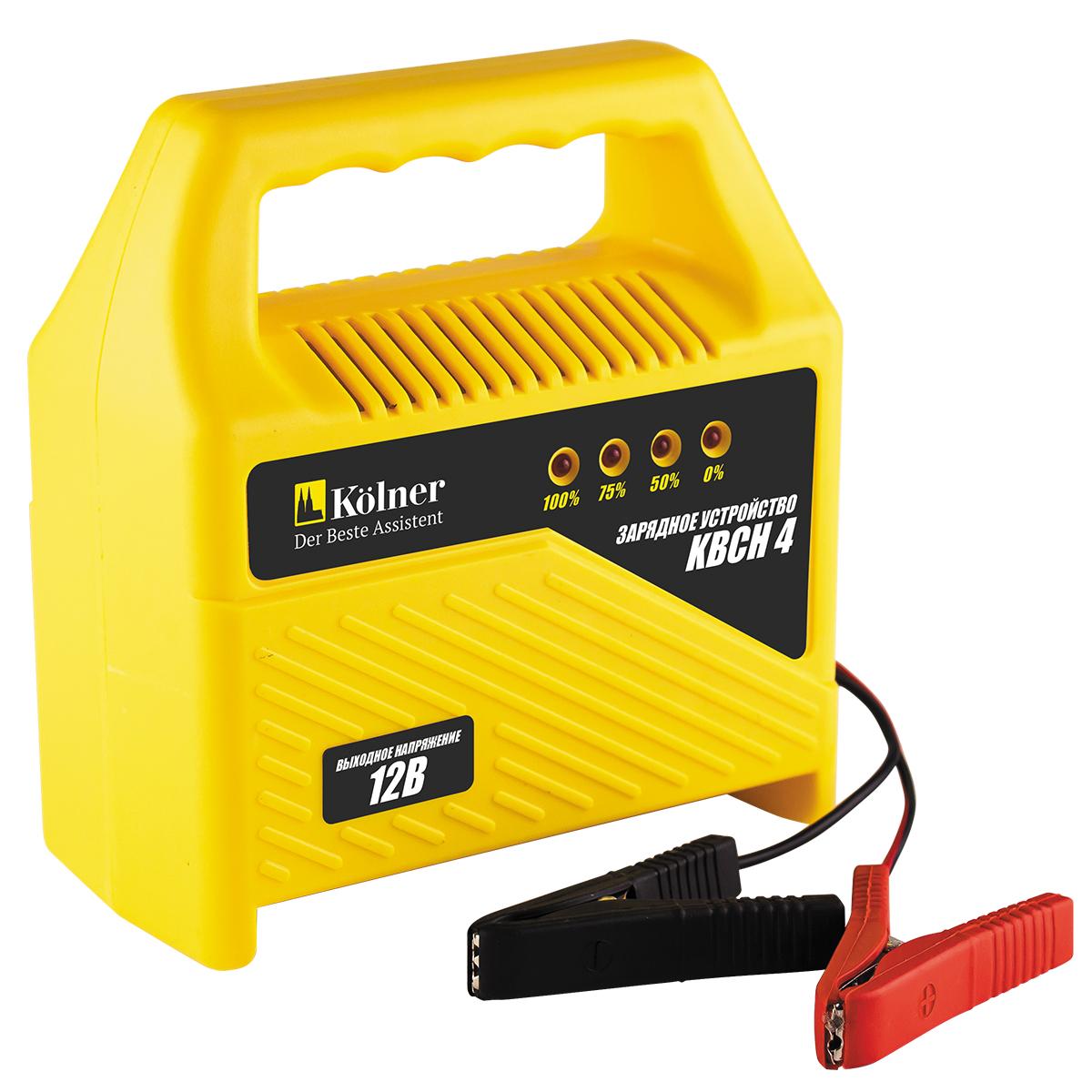 Зарядное устройство для аккумуляторов Kolner KBCН 4 зарядное устройство для аккумуляторов kolner kbcн 8 уцененный товар 5