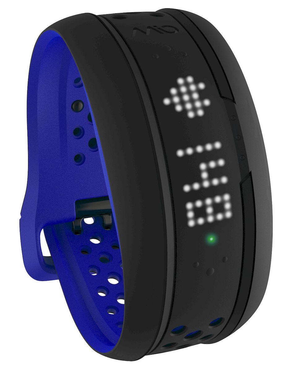 Фитнес-трекер Mio FUSE Cobalt Small-Medium, цвет: черный, синий цены