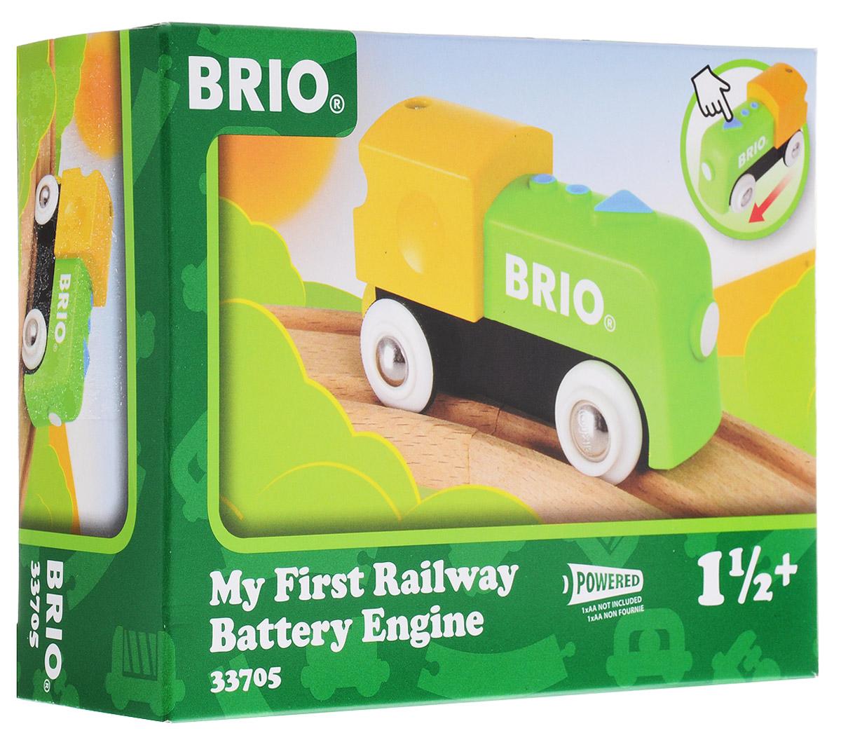 Brio Игрушка Мой первый паровозик цена