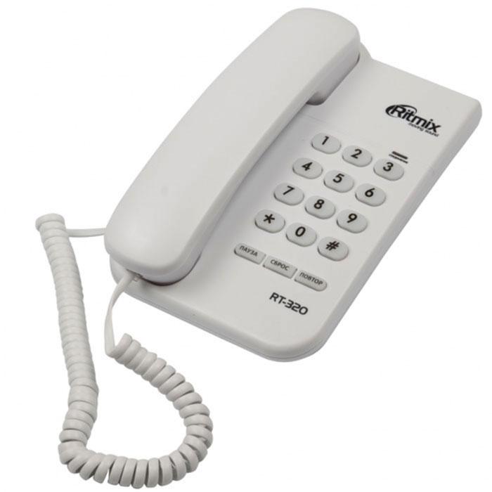 Ritmix RT-320, White телефон