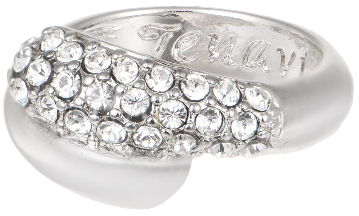 Кольцо Jenavi Озон. Литела, цвет: серебряный. j947f000. Размер 16 кольцо женское jenavi линия судьбы вейя цвет золотой r406p090 размер 16