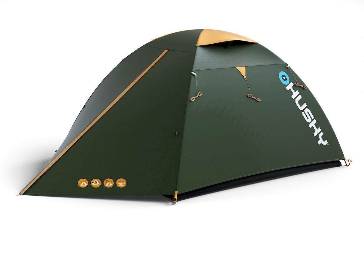 """Палатка туристическая Husky """"BIRD 3 CLASSIC"""", цвет: зеленый"""